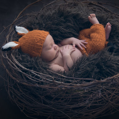Canmore newborn baby photography