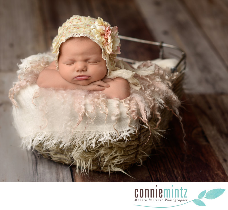 Vintage Newborn Photography