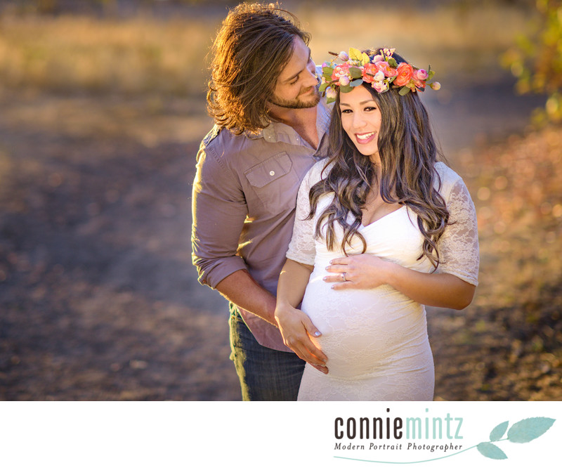 Bohemian Maternity Session in Vancouver, WA