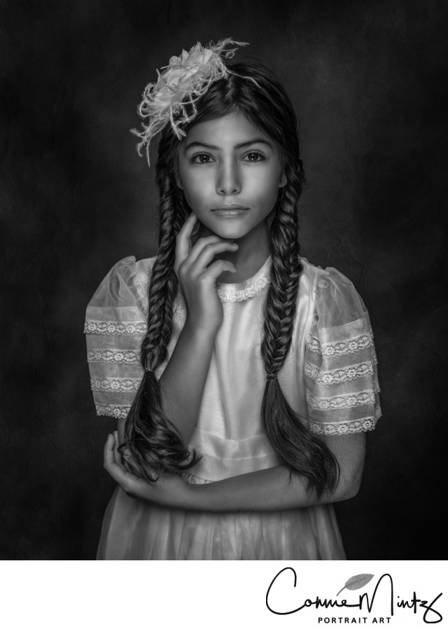 Black and White Children Pictures