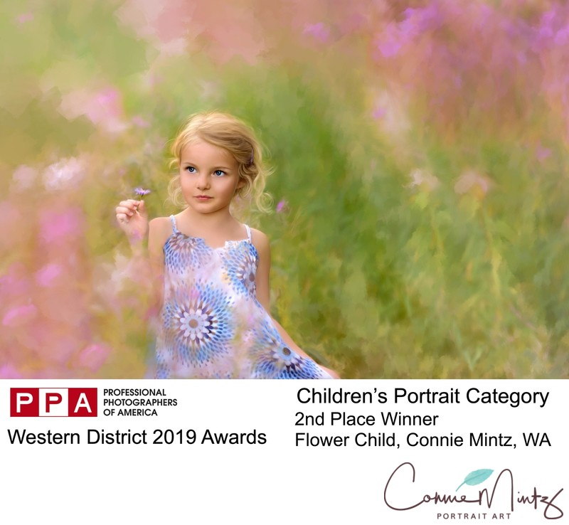 Western District 2nd Place in Children's Portraits