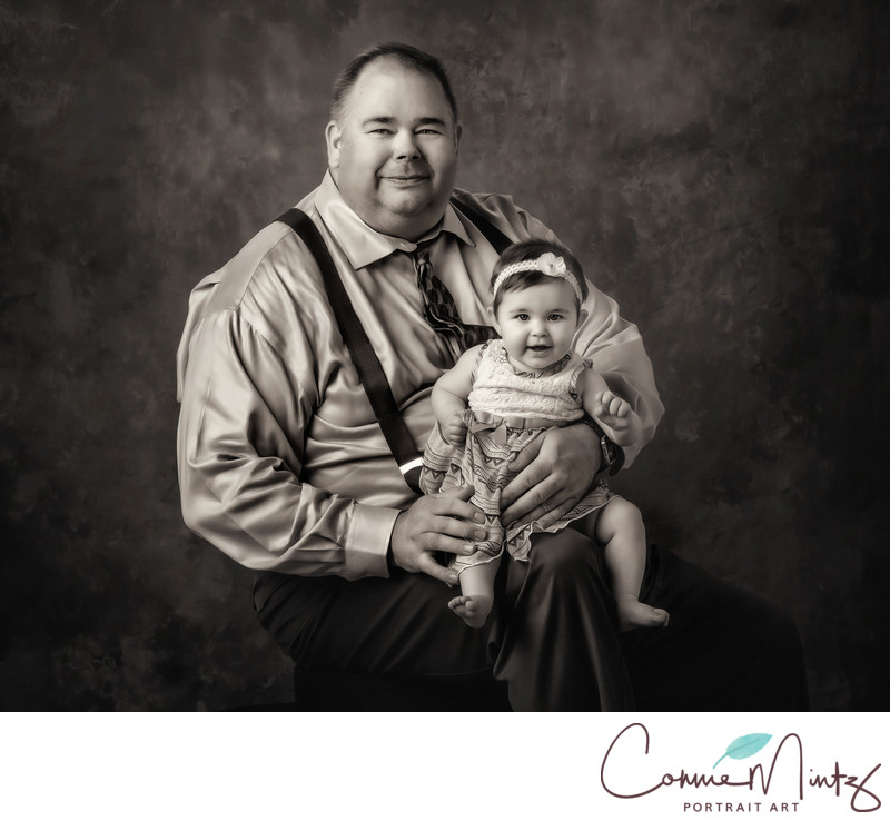 Vancouver Washington Black and White Family Photographer