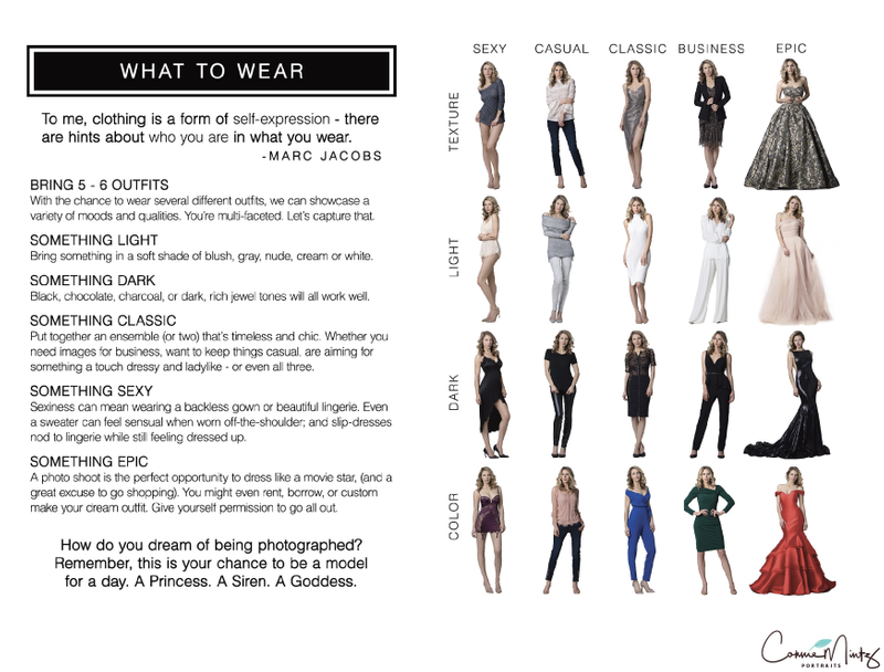 What to Wear Choices