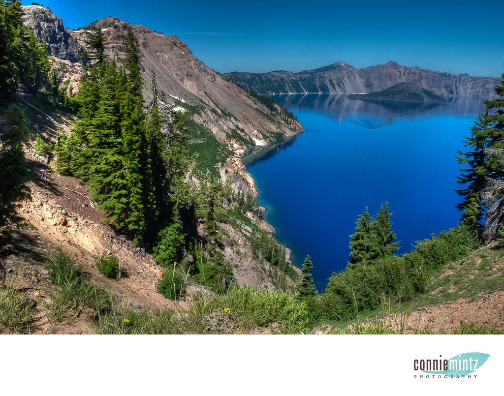 View at Crater Lake