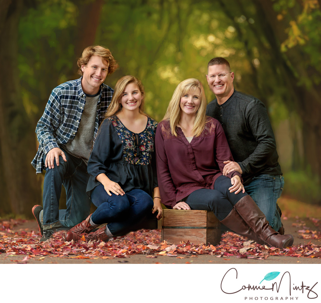 Family Photo Session -Vancouver Lake