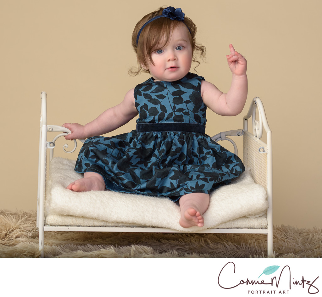 Vancouver WA Photographer -One Year Old