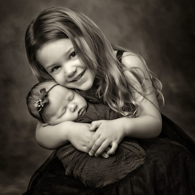 Vancouver Washington Photographer Studio Black & White