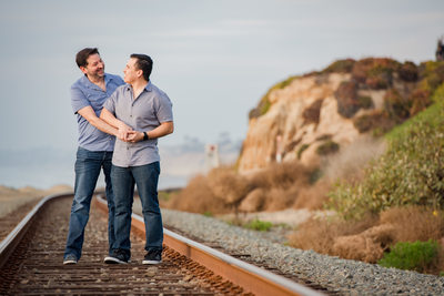 Del Mar Engagement Photography