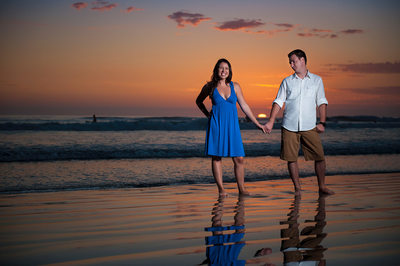 Pacific Beach Engagement Photography