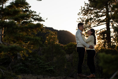 West Shore Lake Tahoe Engagement Session