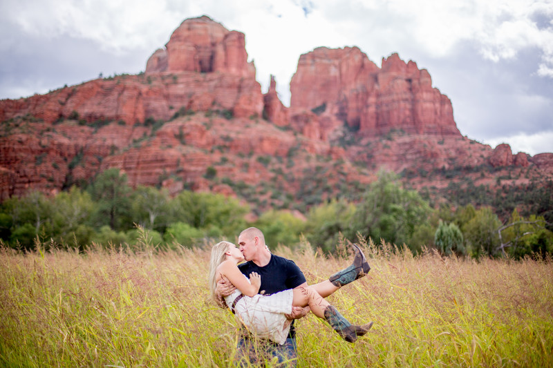 Cathedral Rock Engagement Session, Sedona Photographer