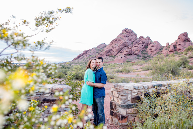 Papago Park Engagement Session, Phoenix Photographer