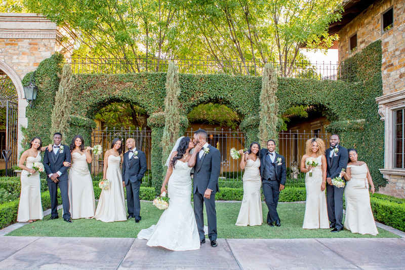 Villa Siena Wedding Party Phoenix Photographer