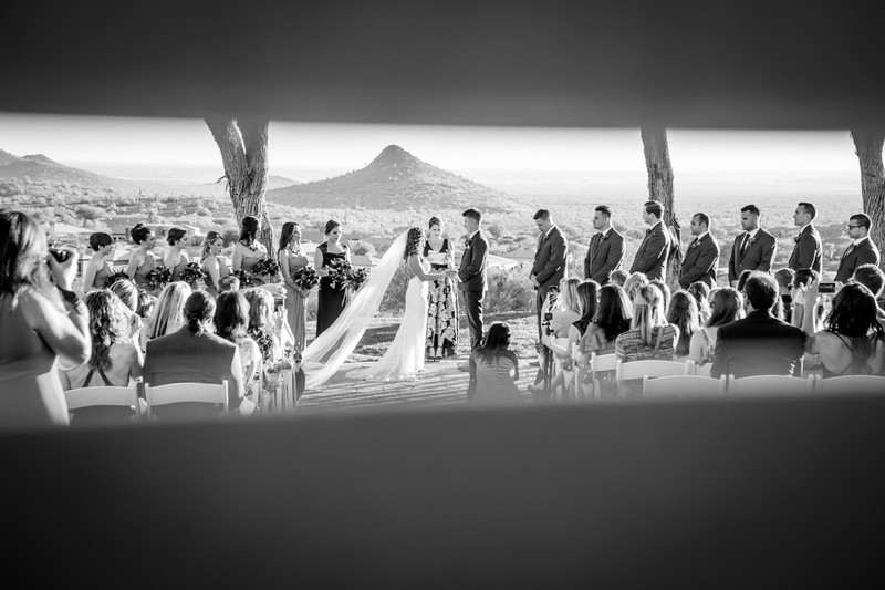 Eagle Mountain Ceremony Wedding Phoenix Photographer