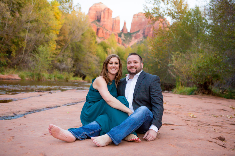 Red Rocks of Sedona Engagement Session, NVS Photography
