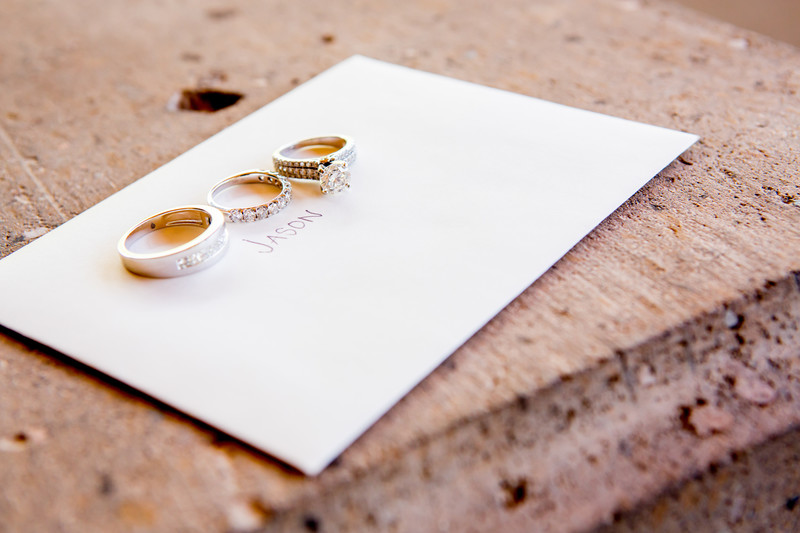 Rings and Love Note Phoenix Wedding Photographer