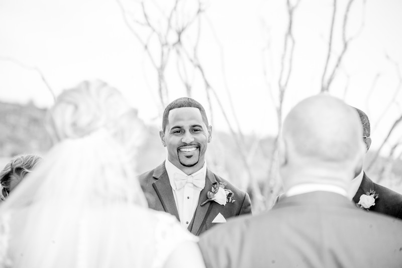 Seeing his girl first look Phoenix Wedding Photographer