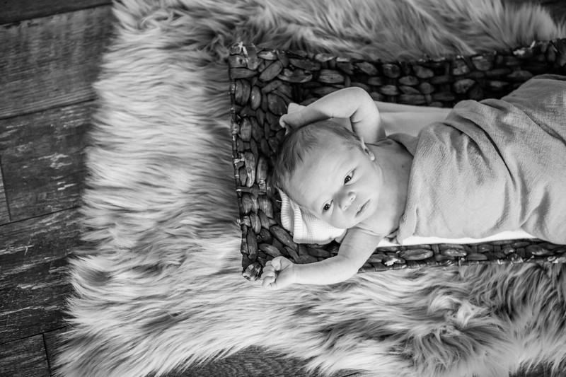 Baby In Home Portrait Session, Phoenix Photographer