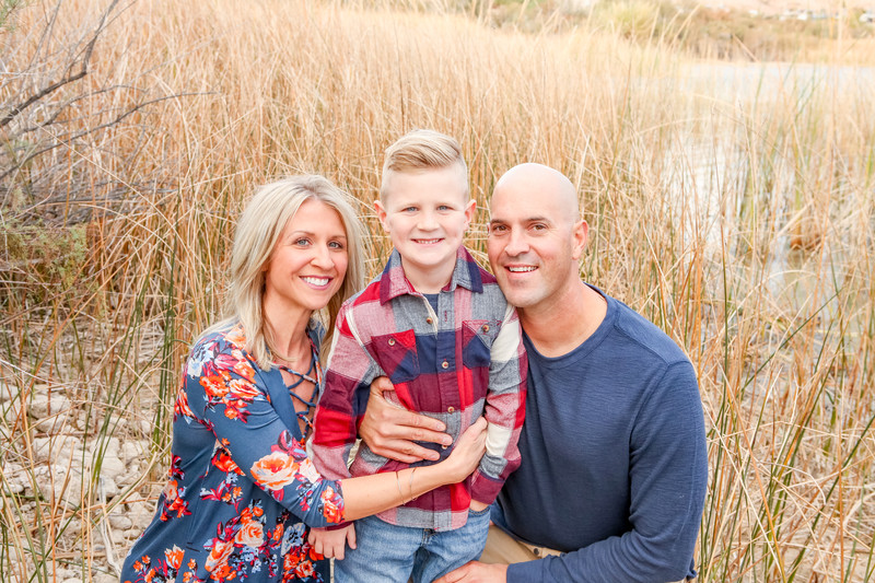 Tall Grass Family Portrait Session NVS Photography