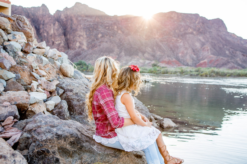 Sisters Children Portrait Session, Lake Havasu City