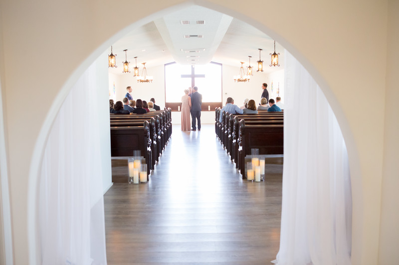 Ceremony Cave Creek Chapel Phoenix Wedding Photographer