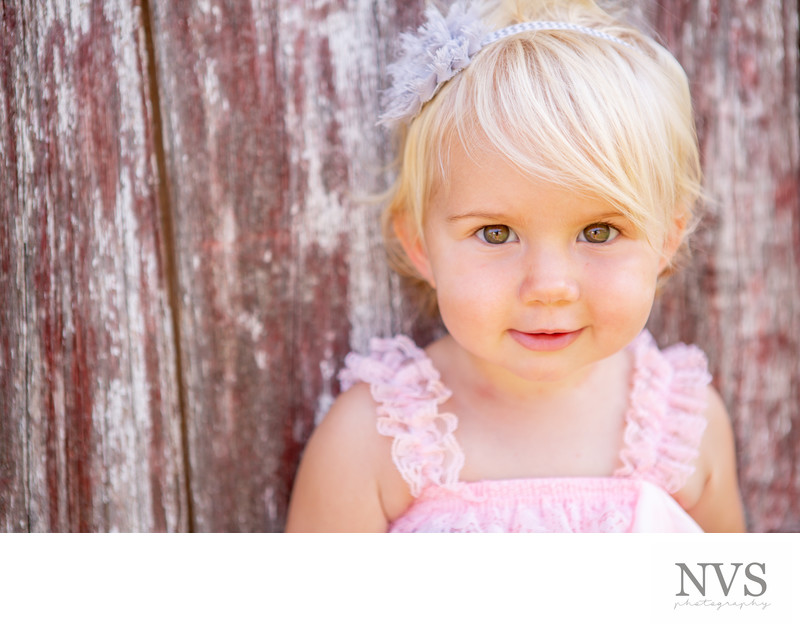 Barn Door Kids Portrait Session Scottsdale Photographer