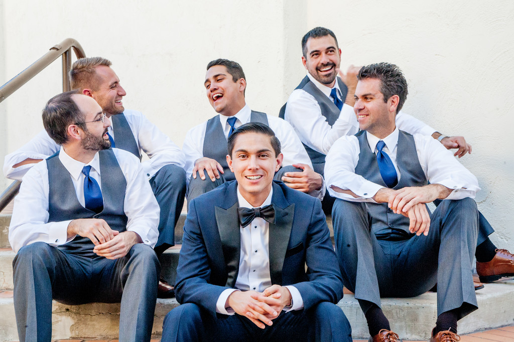 Groomsmen at The Clayton Wedding Phoenix Photographer