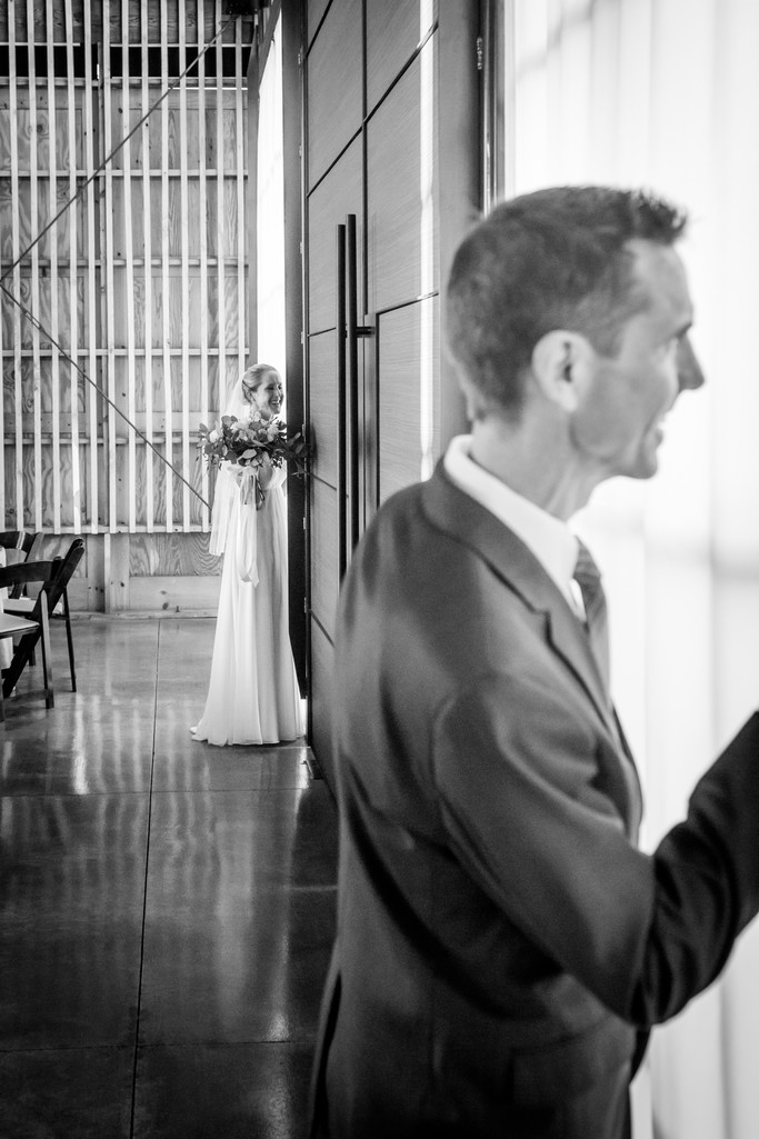 Bride and Father Paseo Phoenix Wedding Photographer