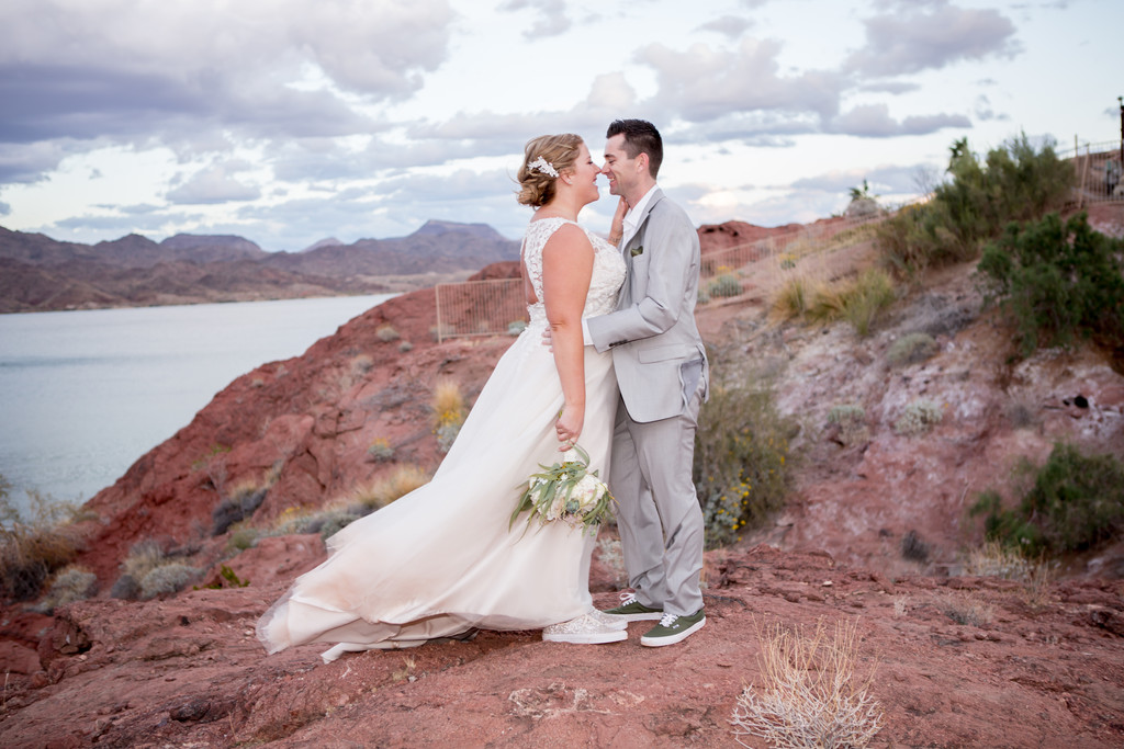 Bride Groom at The Pointe Phoenix Wedding Photographer