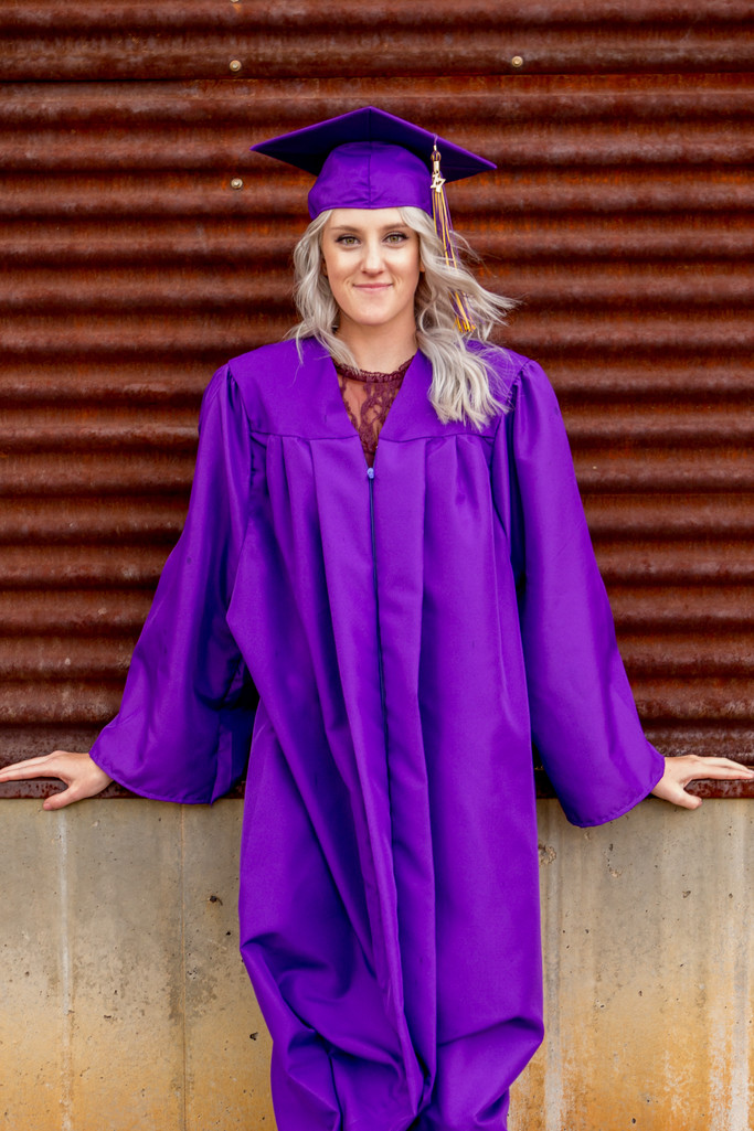 Cap and Gown Portrait Session, Phoenix Photographer