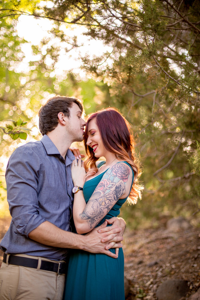 Kiss Engagement Session, Sedona, Phoenix Photographer