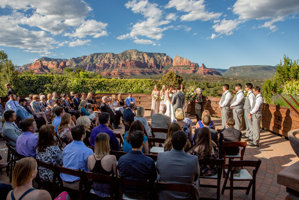 Sedona Wedding Ceremony Phoenix Destination Photography