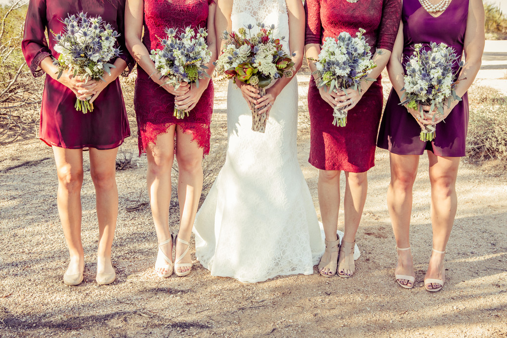 Bridesmaid bouquet Phoenix Wedding Photographer