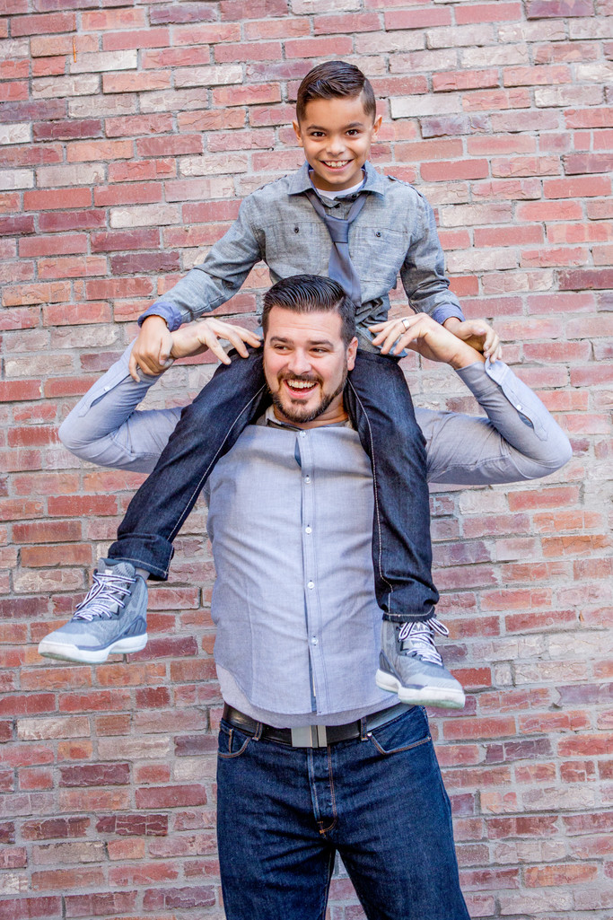 Las Vegas Portrait Session, Father Son Photographer