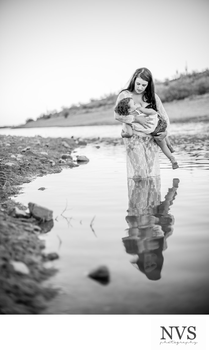 Breastfeeding Portrait Session, Phoenix Photographer