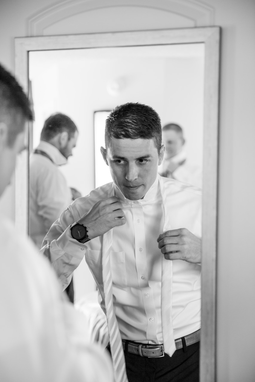 Groom at Agave of Sedona Wedding Photographer