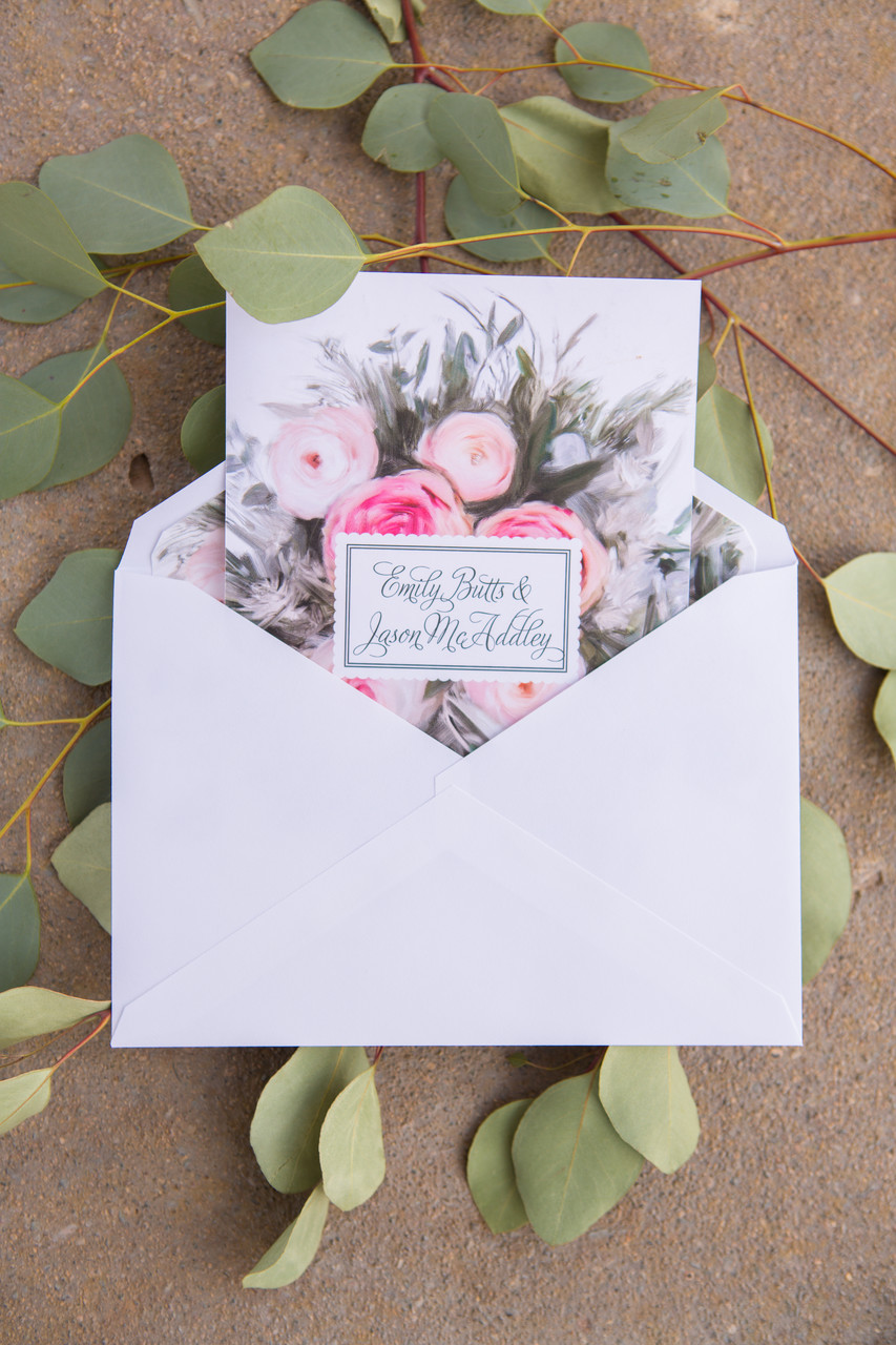 Wedding invitation Blackstone Phoenix Photographer