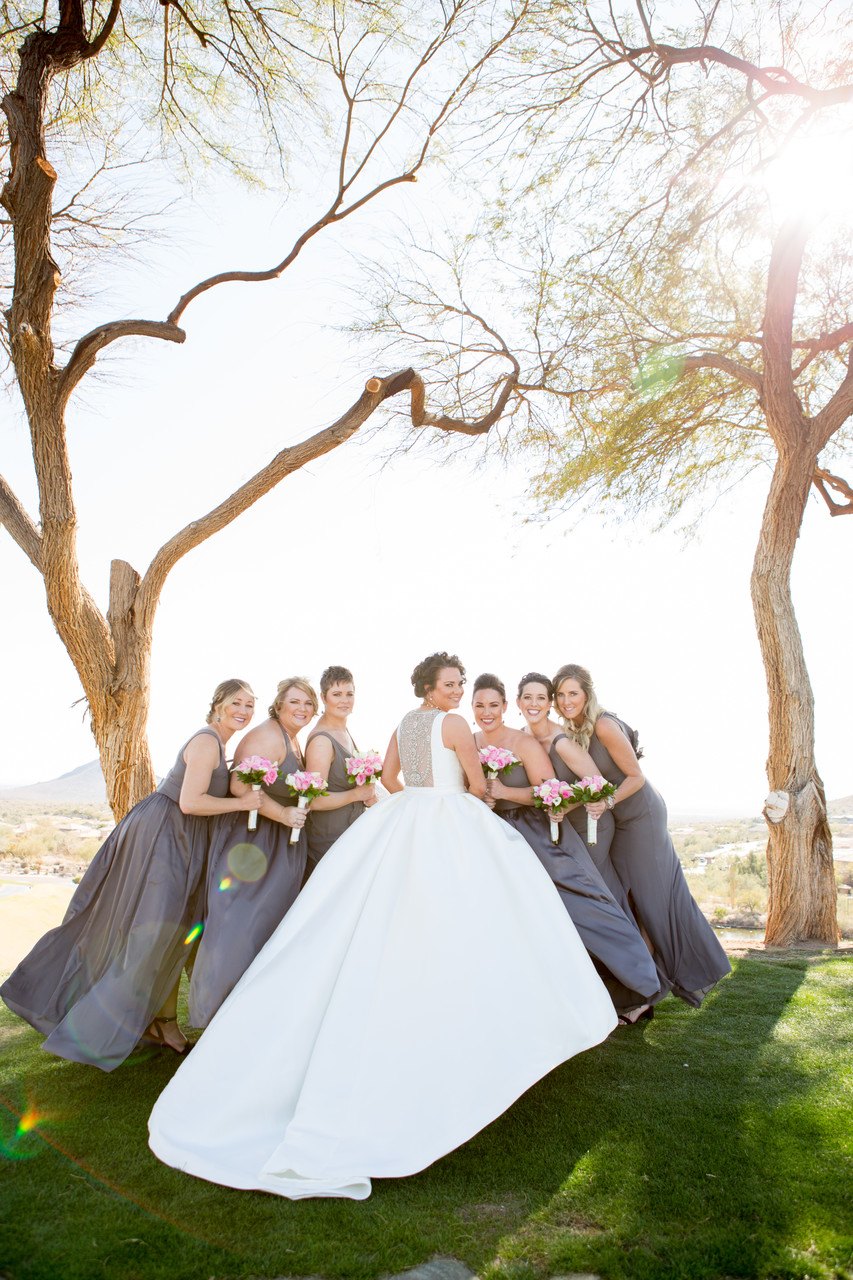 Bride Eagle Mountain Phoenix Wedding Photographer