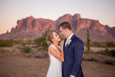 Superstition Mountain wedding Phoenix photographer