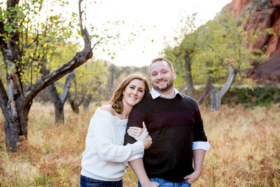 Engagement Session in Sedona Photographer