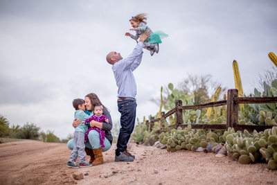 Candid Family Portrait Session, Phoenix Photographer