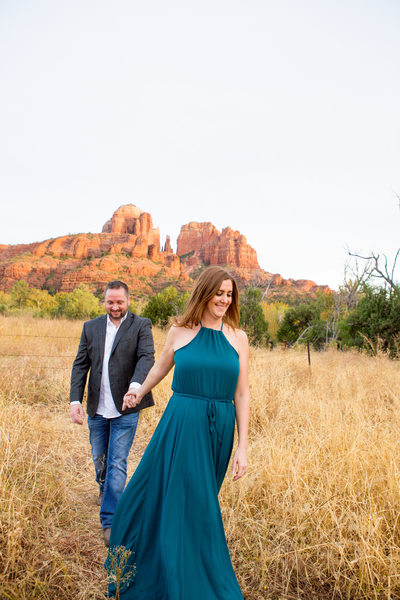 Engagement Session in Sedona, Phoenix Photographer