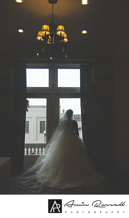 Bridal portrait at King Edwards Hotel