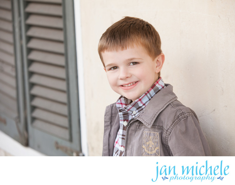 St. Augustine, FL Family Photographer - Leaning Lincoln