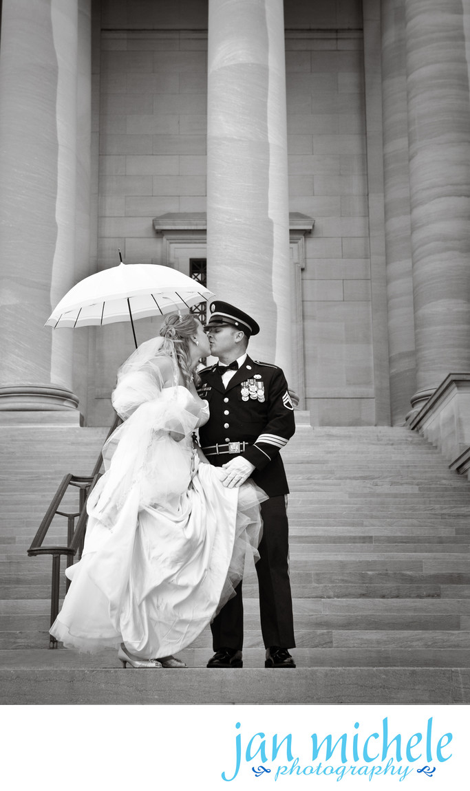 Rain on a wedding day