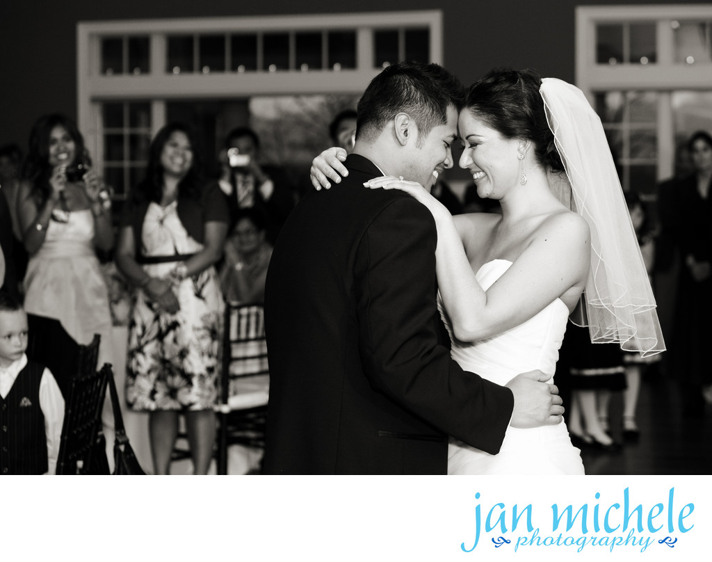 First Dance at Chesapeake Bay Beach Club Wedding
