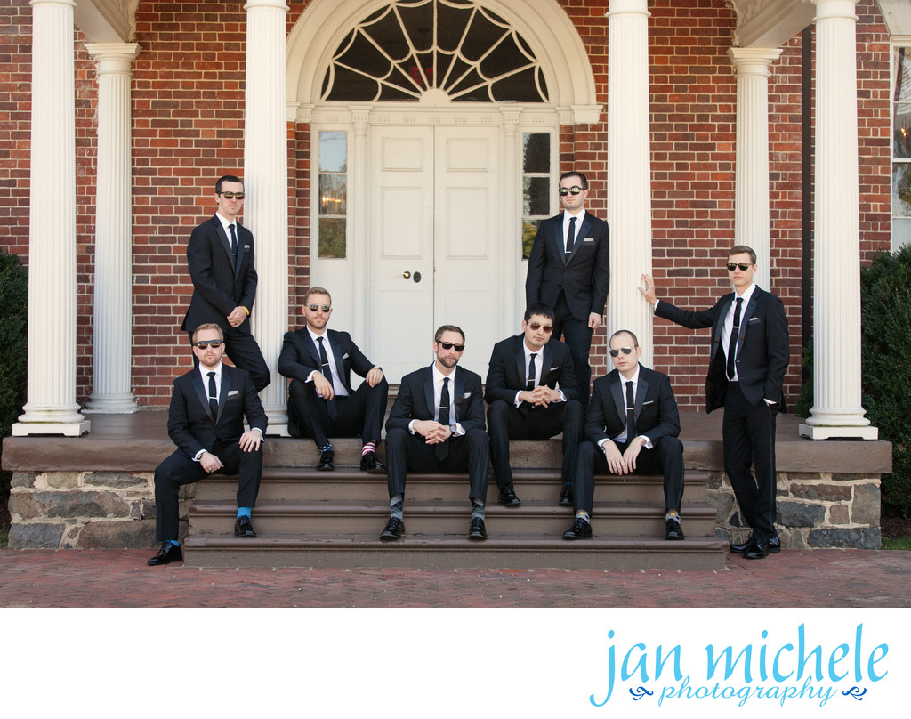Groomsmen - Sunglasses and Socks