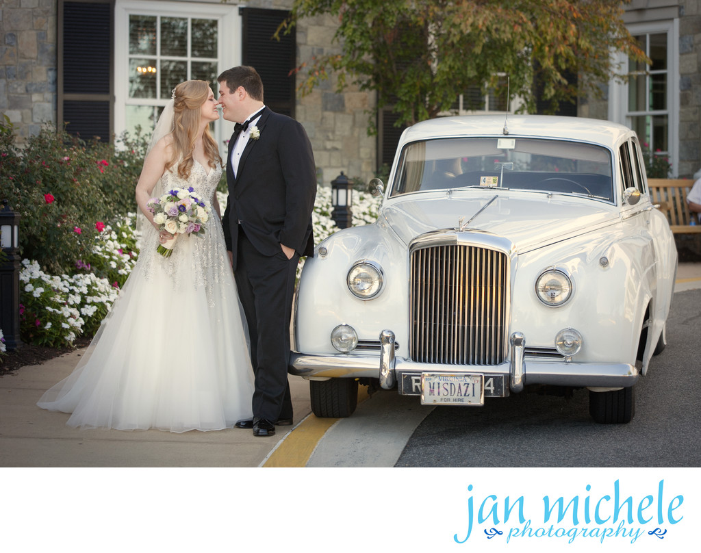 How about a 1957 Bentley for transportation on your wedding day?