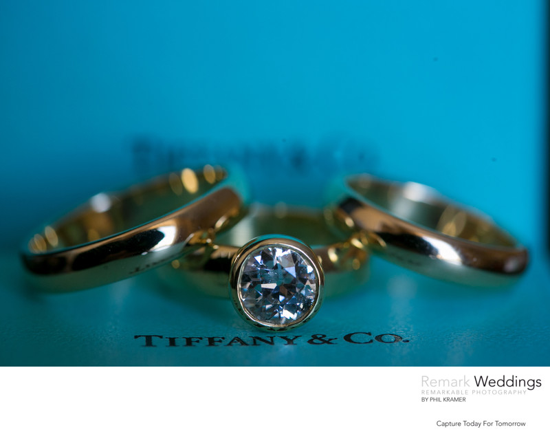 Tiffany & Company Gold Wedding Rings at The Ritz Carlton
