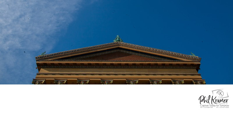 Top of the Philadelphia Museum of Art Phil Kramer